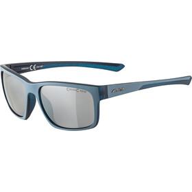 Alpina Lino I Glasses, dirt blue transparent matt/black mirror